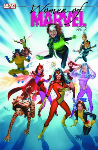 Women Of Marvel Vol. 2 Cover