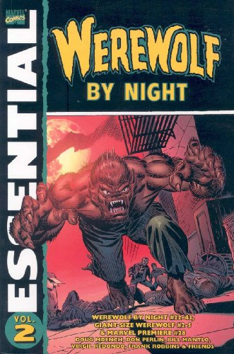 Essential Werewolf By Night Vol. 2  Cover