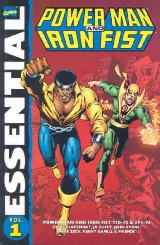 Essential Power Man And Iron Fist Vol. 1 Cover