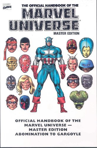 Essential Official Handbook Of The Marvel Universe Master Edition Vol. 1  Cover
