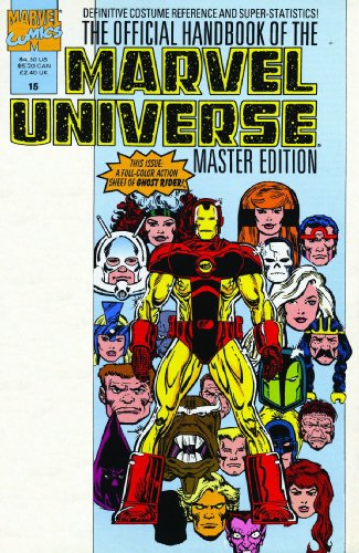 Essential Official Handbook Of The Marvel Universe Master Edition Vol. 2  Cover