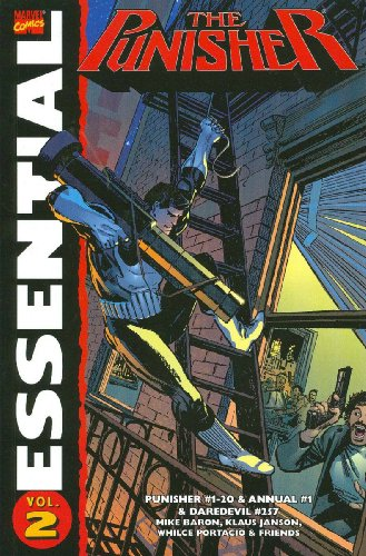 Essential Punisher Vol. 2 Cover