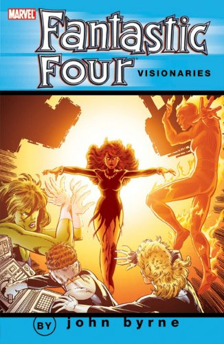 Fantastic Four Visionaries: John Byrne Vol. 7  Cover
