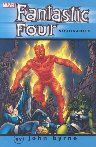 Fantastic Four Visionaries: John Byrne Vol. 8 Cover