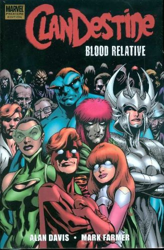 Clandestine: Blood Relative Cover