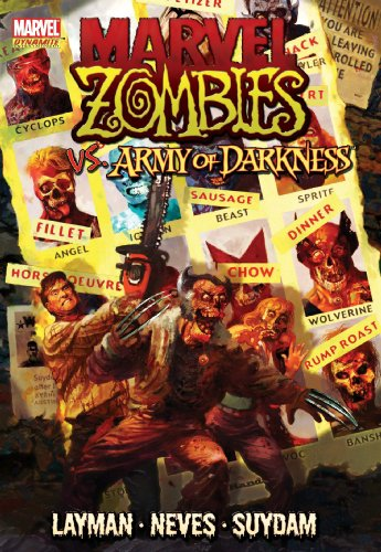 Marvel Zombies Vs. Army Of Darkness Cover