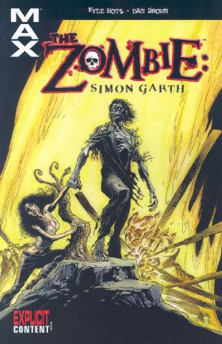 The Zombie: Simon Garth Cover