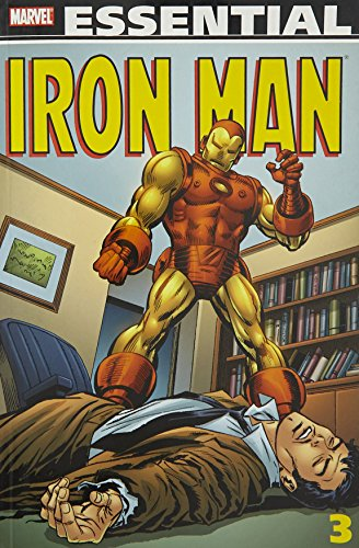 Essential Iron Man Vol. 3 Cover