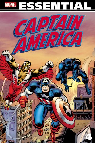 Essential Captain America Vol. 4 Cover