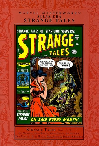 Marvel Masterworks: Atlas Era Strange Tales Vol. 1  Cover