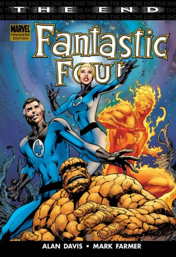 Fantastic Four: The End Cover