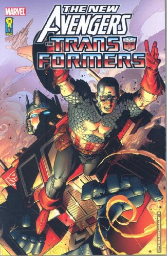 New Avengers / Transformers Cover