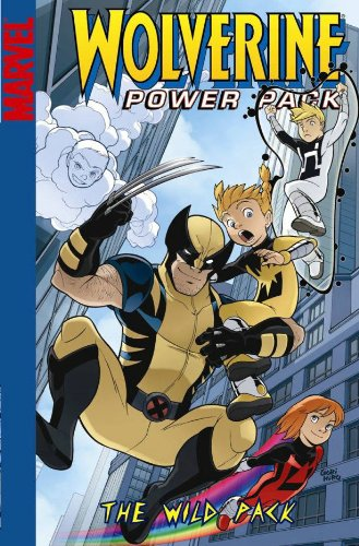 Wolverine And Power Pack Cover