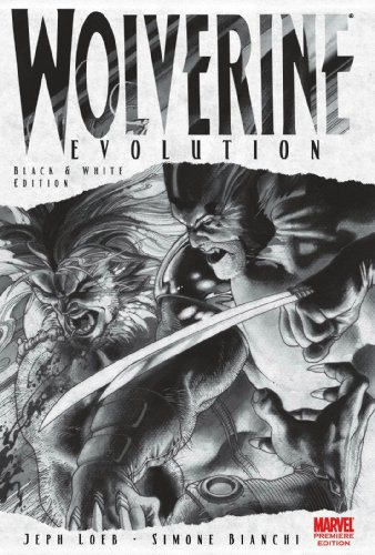 Wolverine: Evolution (Black And White Edition) Cover