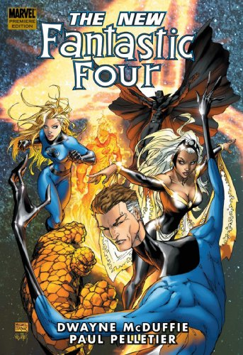 The New Fantastic Four Cover