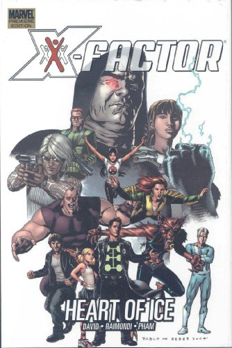 X-Factor: Heart Of Ice Cover
