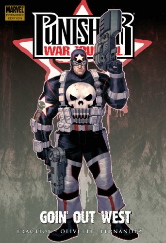 Punisher War Journal Vol. 2: Goin' Out West Cover
