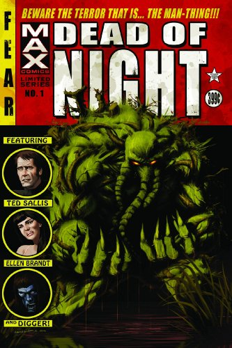 Dead Of Night: Man-Thing Cover