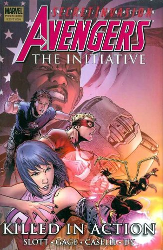 Avengers: The Initiative Vol. 2: Killed In Action Cover