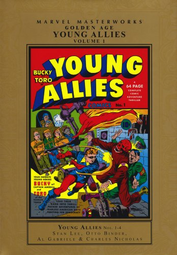 Marvel Masterworks: Golden Age Young Allies Vol. 1  Cover