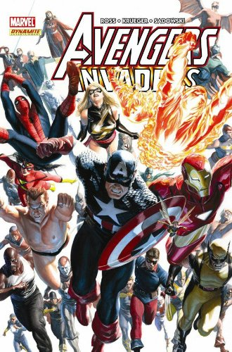 Avengers / Invaders Cover