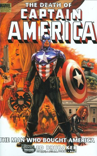 The Death Of Captain America Vol. 3: The Man Who Bought America  Cover