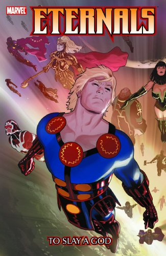 Eternals Vol. 1: To Slay A God Cover