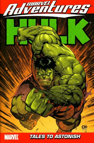 Marvel Adventures Hulk Vol. 4: Tales To Astonish Cover