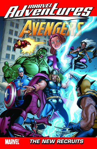 Marvel Adventures: Avengers Vol. 8: The New Recruits Cover