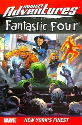 Marvel Adventures Fantastic Four Vol. 9: New York's Finest Cover