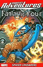 Marvel Adventures Fantastic Four: Spaced Crusaders Cover