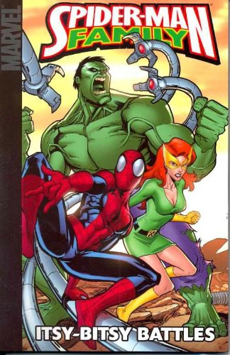 Spider-Man Family: Itsy-Bitsy Battles Cover