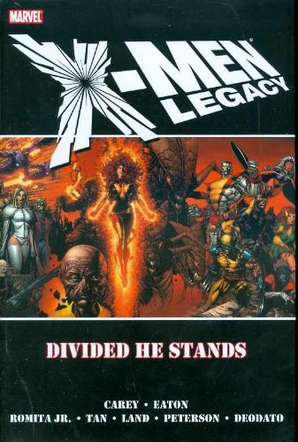 X-Men Legacy: Divided He Stands Cover