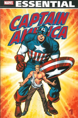 Essential Captain America Vol. 1  Cover