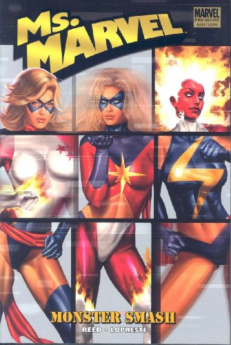 Ms. Marvel Vol. 4: Monster Smash Cover