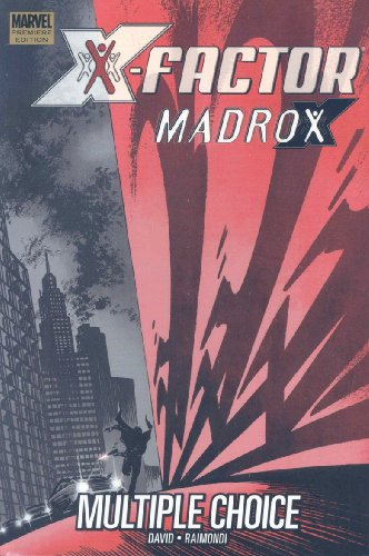 X-Factor: Madrox: Multiple Choice Cover
