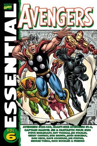 Essential Avengers Vol. 6 Cover