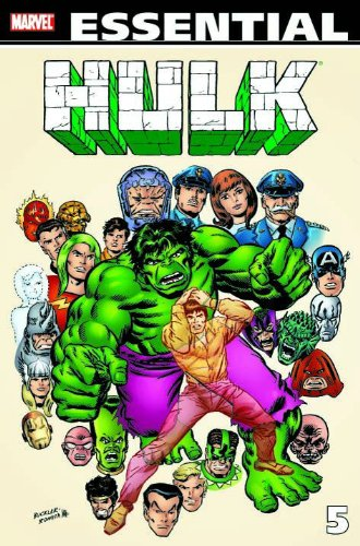 Essential Incredible Hulk Vol. 5 Cover