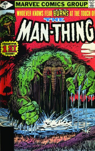 Essential Man-Thing Vol. 2 Cover