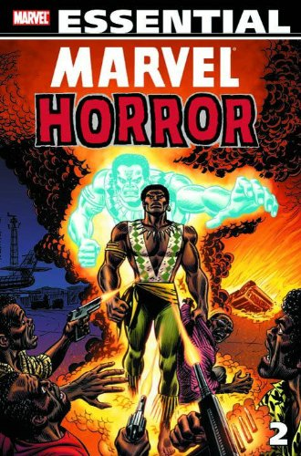 Essential Marvel Horror Vol. 2  Cover