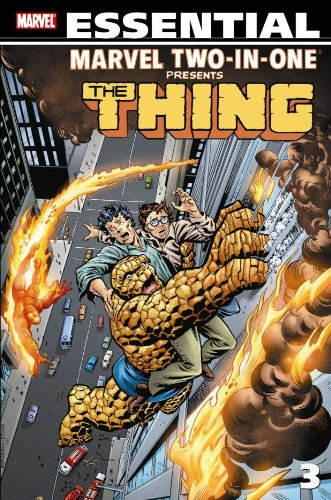 Essential Marvel Two-In-One Vol. 3 Cover