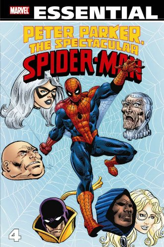 Essential Peter Parker, The Spectacular Spider-Man Vol. 4  Cover