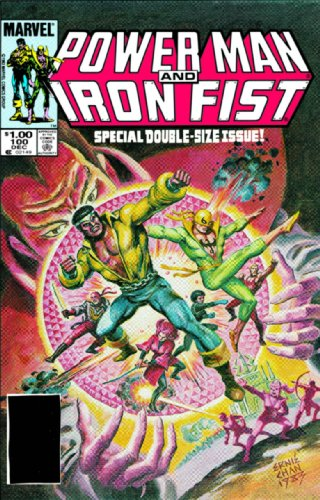 Essential Power Man And Iron Fist Vol. 2 Cover
