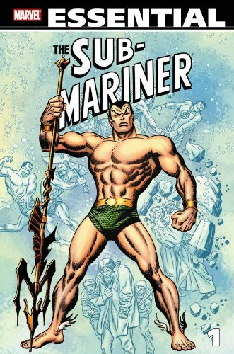 Essential Sub-Mariner Vol. 1  Cover