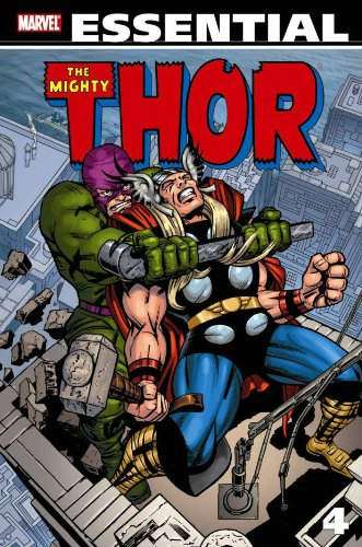 Essential Thor Vol. 4  Cover