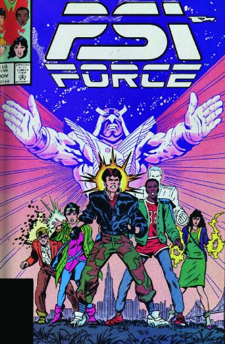 Psi-Force Classic Vol. 1 Cover