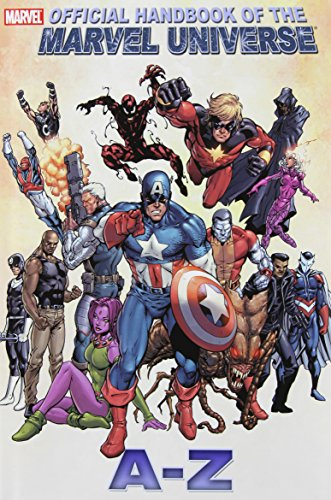 All New Official Handbook Of The Marvel Universe A - Z  Vol. 2 Cover