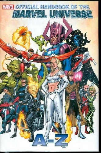 All New Official Handbook Of The Marvel Universe A - Z  Vol. 4 Cover
