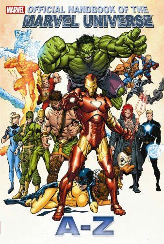 All New Official Handbook Of The Marvel Universe A - Z  Vol. 5 Cover