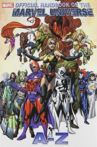 All New Official Handbook Of The Marvel Universe A - Z  Vol. 7 Cover